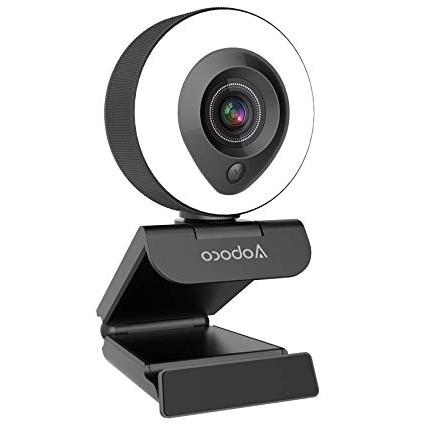 streaming videocamera USB Pro Web per Mac Windows Laptop Twitch Xbox One Skype YouTube OBS Xsplit Streaming webcam HD 1080p con microfono a riduzione del rumore